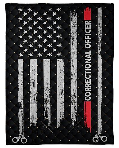 Correctional Officer USA Flag