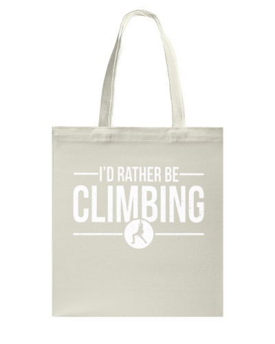Id Rather Be Rock Climbing Hoodie