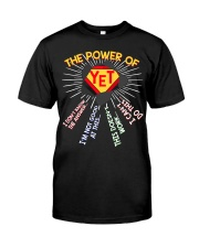 The power of yet Premium Fit Mens Tee thumbnail