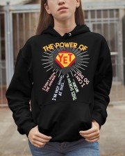 The power of yet Hooded Sweatshirt apparel-hooded-sweatshirt-lifestyle-07
