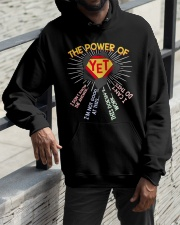 The power of yet Hooded Sweatshirt apparel-hooded-sweatshirt-lifestyle-front-11