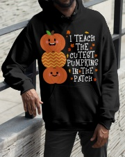 i Teach the cutest pumpkins Hooded Sweatshirt apparel-hooded-sweatshirt-lifestyle-front-11