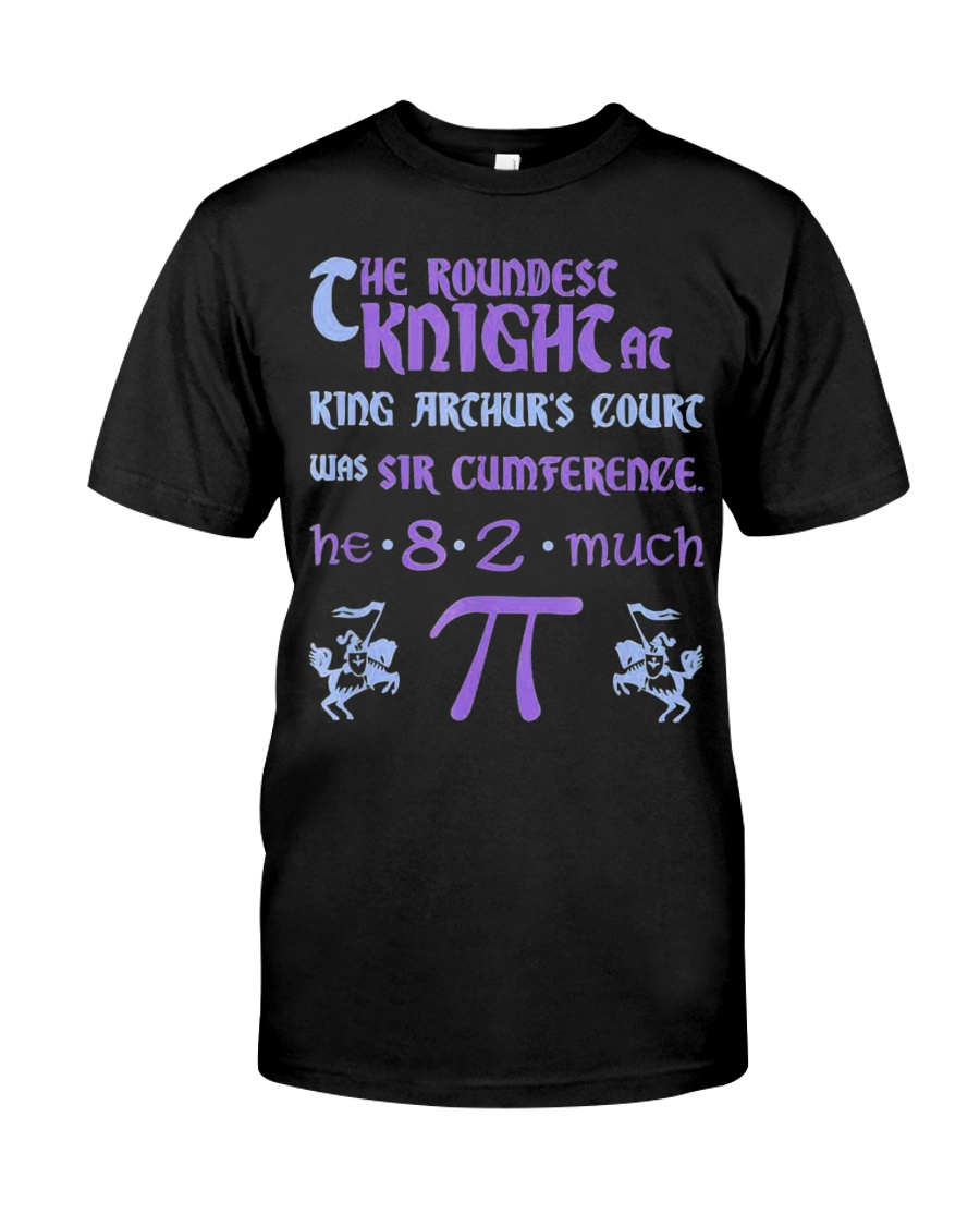 Pi Day March 14 T-shirt Sir Cumference Classic T-Shirt
