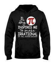 Pi day inspires me to make irrational yet Hooded Sweatshirt thumbnail