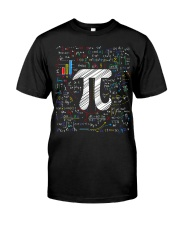 Pi Day Math Equation Classic T-Shirt tile