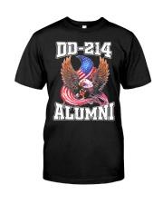 DD-214 Alumni Shirt Military Veteran Classic T-Shirt front