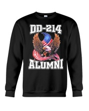 DD-214 Alumni Shirt Military Veteran Crewneck Sweatshirt thumbnail