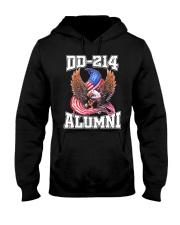 DD-214 Alumni Shirt Military Veteran Hooded Sweatshirt thumbnail