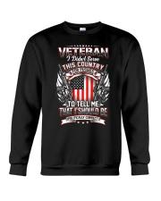 Veteran Crewneck Sweatshirt thumbnail