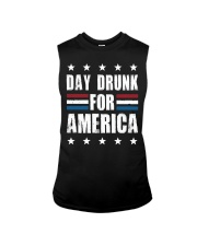 Independence Day Day Drunk For America Shirt Sleeveless Tee thumbnail