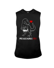 Preggosaurus Rex Mom Pregnant Mother Shirt Sleeveless Tee thumbnail