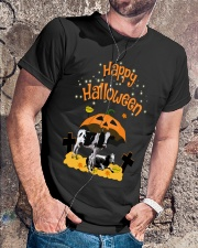 Cows Happy Halloween Shirt Classic T-Shirt lifestyle-mens-crewneck-front-4