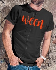 WeenHalloween Pair With Hallo Shirt Classic T-Shirt lifestyle-mens-crewneck-front-4