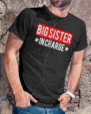 Big Sister In Charge Funny Big Sister Shirt Classic T-Shirt lifestyle-mens-crewneck-front-4