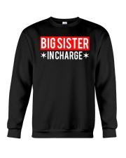 Big Sister In Charge Funny Big Sister Shirt Crewneck Sweatshirt thumbnail