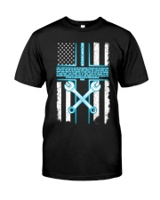 Ironworker Lord Thank You For This Job And The Ble Premium Fit Mens Tee thumbnail