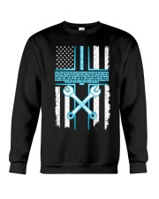 Ironworker Lord Thank You For This Job And The Ble Crewneck Sweatshirt thumbnail