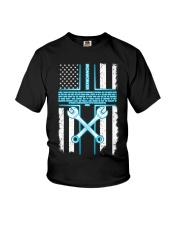Ironworker Lord Thank You For This Job And The Ble Youth T-Shirt thumbnail