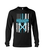 Ironworker Lord Thank You For This Job And The Ble Long Sleeve Tee thumbnail