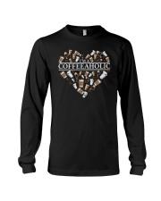 Im A Coffeeaholic Coffee Shirt Long Sleeve Tee thumbnail