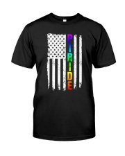 Lgbt Flag Pride Rainbow Shirt Classic T-Shirt front