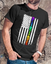 Lgbt Flag Pride Rainbow Shirt Classic T-Shirt lifestyle-mens-crewneck-front-4