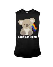 Rainbow Flag Koala Gay Pride LGBT Shirt Sleeveless Tee thumbnail