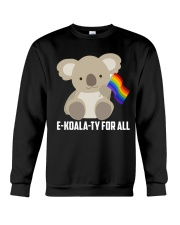 Rainbow Flag Koala Gay Pride LGBT Shirt Crewneck Sweatshirt thumbnail