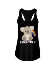 Rainbow Flag Koala Gay Pride LGBT Shirt Ladies Flowy Tank thumbnail