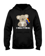 Rainbow Flag Koala Gay Pride LGBT Shirt Hooded Sweatshirt thumbnail