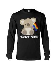 Rainbow Flag Koala Gay Pride LGBT Shirt Long Sleeve Tee thumbnail