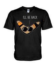 Boomerang Shirt I'll Be Back Boomerang Shirt V-Neck T-Shirt thumbnail