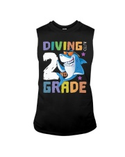 Roaring Into 2st Grade Shark Shirt Back To School  Sleeveless Tee thumbnail