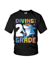 Roaring Into 2st Grade Shark Shirt Back To School  Youth T-Shirt thumbnail
