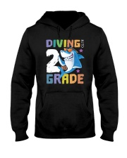 Roaring Into 2st Grade Shark Shirt Back To School  Hooded Sweatshirt tile