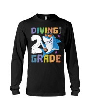 Roaring Into 2st Grade Shark Shirt Back To School  Long Sleeve Tee thumbnail
