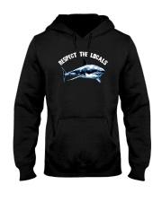Beach Respect The Locals Shark Shirt Hooded Sweatshirt thumbnail