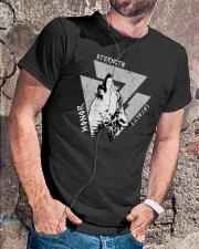 Strength Honor Loyalty Viking Shirt Classic T-Shirt lifestyle-mens-crewneck-front-4