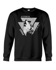 Strength Honor Loyalty Viking Shirt Crewneck Sweatshirt thumbnail