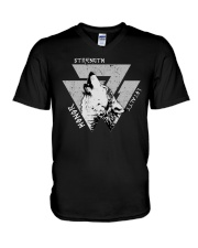 Strength Honor Loyalty Viking Shirt V-Neck T-Shirt thumbnail