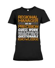 Regional Manager Shirt Premium Fit Ladies Tee thumbnail