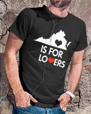Virginia Is For Lovers T-Shirt Classic T-Shirt lifestyle-mens-crewneck-front-4