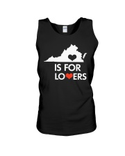 Virginia Is For Lovers T-Shirt Unisex Tank thumbnail