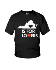 Virginia Is For Lovers T-Shirt Youth T-Shirt thumbnail