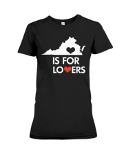 Virginia Is For Lovers T-Shirt Premium Fit Ladies Tee thumbnail
