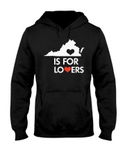 Virginia Is For Lovers T-Shirt Hooded Sweatshirt thumbnail