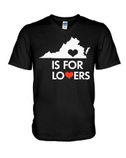 Virginia Is For Lovers T-Shirt V-Neck T-Shirt thumbnail