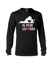 Virginia Is For Lovers T-Shirt Long Sleeve Tee thumbnail