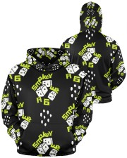 smoke dice  Men's All Over Print Hoodie aos-men-hoodie-ghosted-front-04