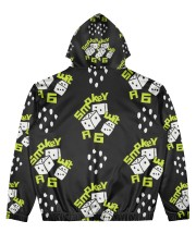 smoke dice  Men's All Over Print Hoodie back